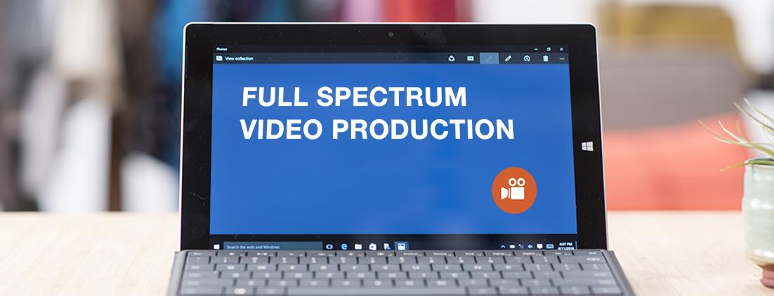 Full Spectrum Video Production